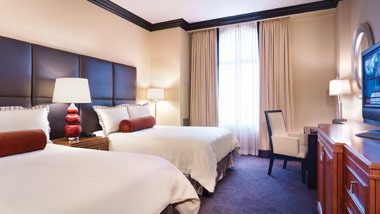 Double Queen Room at Ameristar Vicksburg